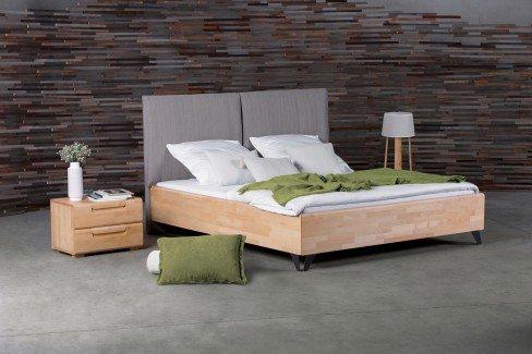 massiva dico holzbett kernbuche mit polster m bel letz ihr online shop. Black Bedroom Furniture Sets. Home Design Ideas