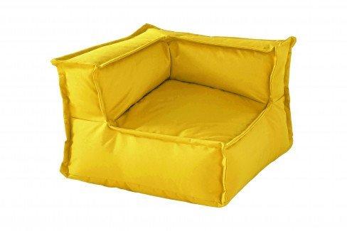 my cushion von Infanskids - Hocker gelb - indigo yellow