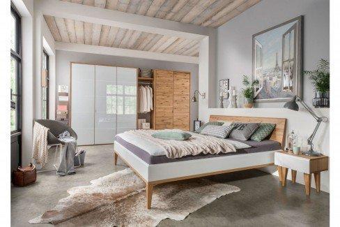 Qarajat von Pure Natur - Schlafzimmer Wildeichenholz - weiß