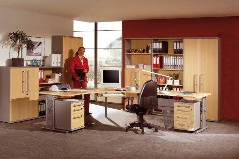 Germania Profi Büromöbel-Komplettset | Möbel Letz - Ihr Online-Shop