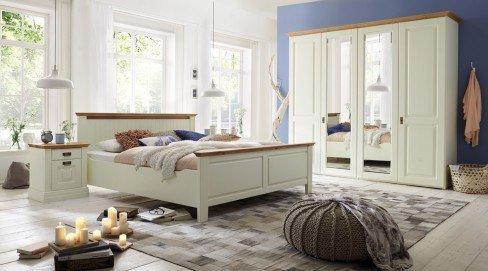 Möndal von Pure Natur - Schlafzimmer-Set Kiefer champagner