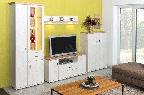 stralsunder wohnwand country eb33001 pinie vintage naturbuche m bel letz ihr online shop. Black Bedroom Furniture Sets. Home Design Ideas