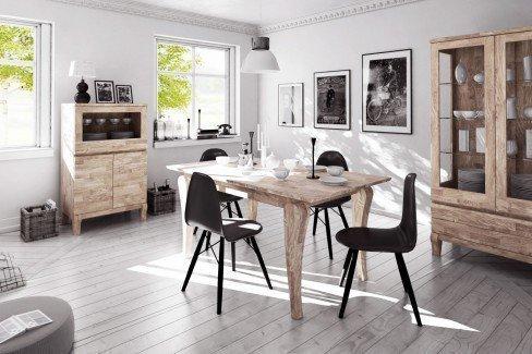 the beds esstisch bona eiche wei ge lt m bel letz ihr. Black Bedroom Furniture Sets. Home Design Ideas
