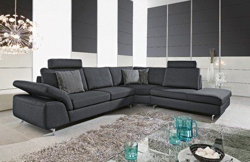 willi schillig 15650 joyzze ecksofa schwarz m bel letz ihr online shop. Black Bedroom Furniture Sets. Home Design Ideas