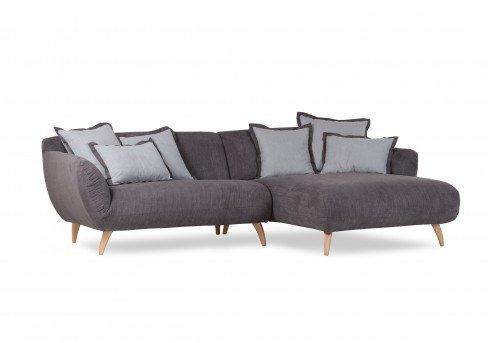 gutmann factory mocca ecksofa dunkelgrau m bel letz ihr online shop. Black Bedroom Furniture Sets. Home Design Ideas