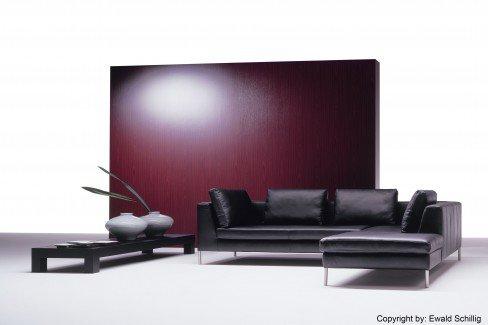 ewald schillig do mi no ledersofa in schwarz m bel letz ihr online shop. Black Bedroom Furniture Sets. Home Design Ideas