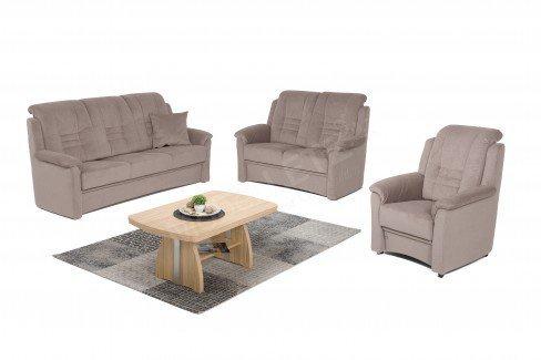 dietsch berlin polstergarnitur nougat m bel letz ihr online shop. Black Bedroom Furniture Sets. Home Design Ideas
