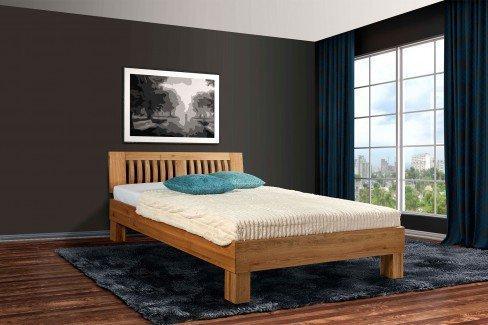 Premium von BED BOX - Holzbett Buche natur