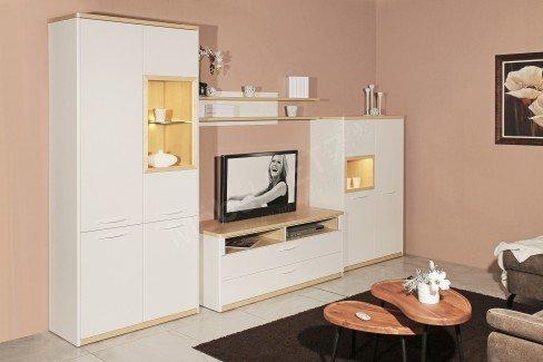 Madie von Wehrsdorfer - Sideboard Lack weiß/ Birke