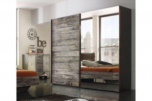 Timberstyle von Rauch Orange - Schreibtisch Sunwood - Alteisen
