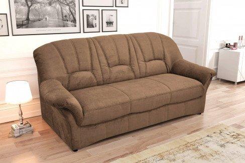 Domo Collection Bahia Sofa in Braun | Möbel Letz - Ihr Online-Shop