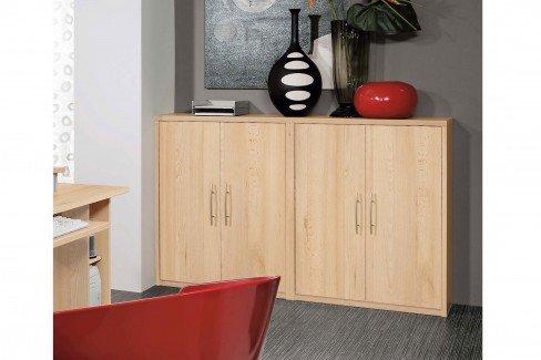 priess kleiner b roschrank home office mit 2 dreht ren m bel letz ihr online shop. Black Bedroom Furniture Sets. Home Design Ideas