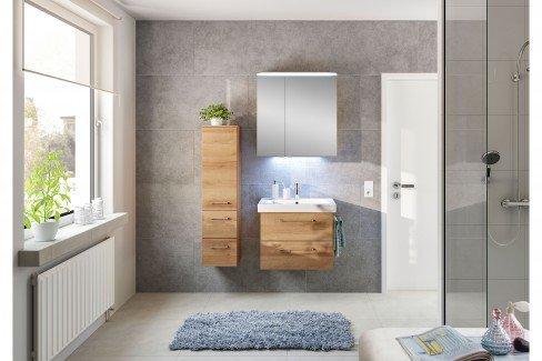 Pineo von Pelipal - Badezimmer in Graphit Struktur