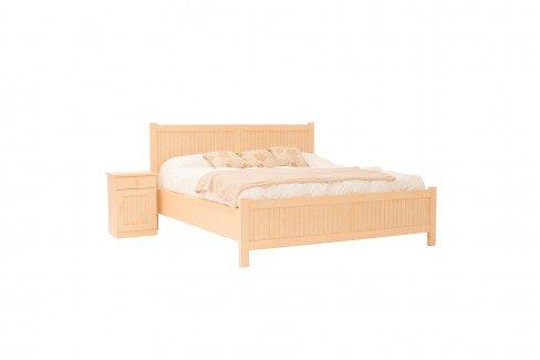 Luna von Rojas Mobiliario - Doppelbett aus Pinienholz