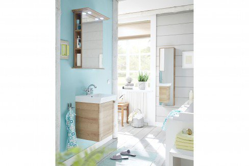 Solitaire 9030 von Pelipal - Badezimmer in Quarzgrau matt