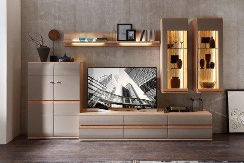 Binz von Stralsunder - Highboard BG15072 grau matt