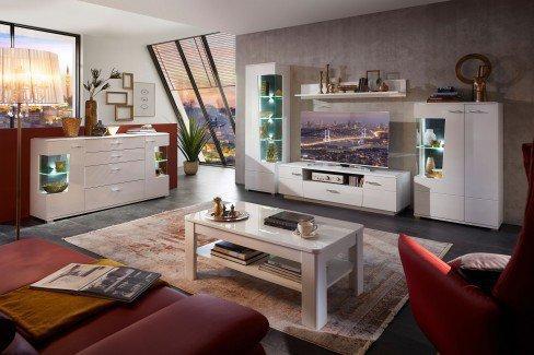 Alibaba von Wohnconcept - Wohnwand weiß