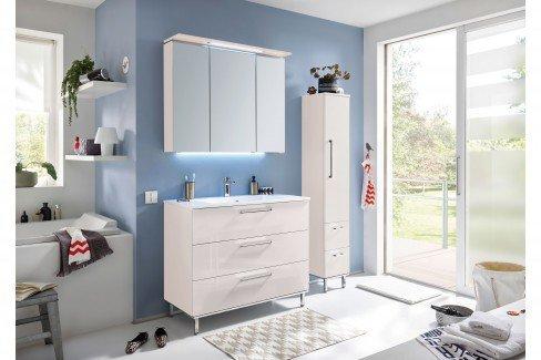 Quada von puris - Badezimmer in Quarzgrau matt