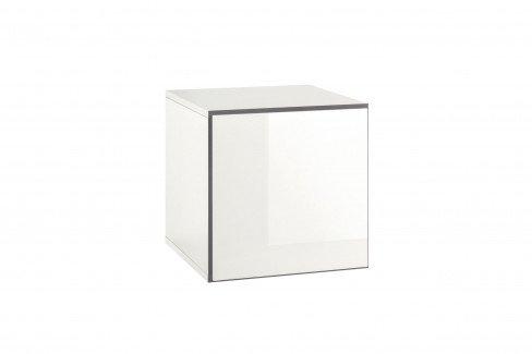 now by h lsta to go box klein 7133 schneewei hochglanz m bel letz ihr online shop. Black Bedroom Furniture Sets. Home Design Ideas