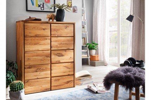 Arvid von Pure Natur - Schlafzimmer-Set aus Wildeiche