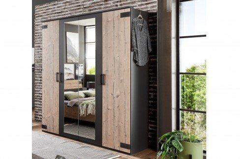 Malmö von Wimex - 4-teiliges Schlafzimmer-Set