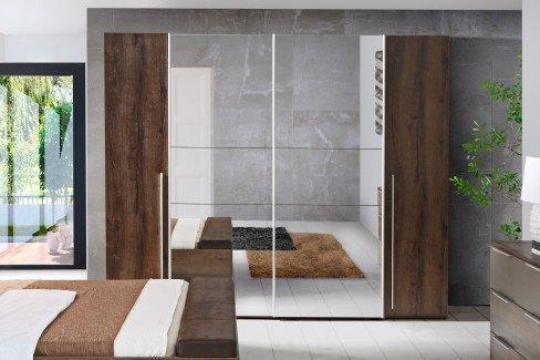 Matteo von Forte - Schlafzimmer-Set Schlammeiche - cacao