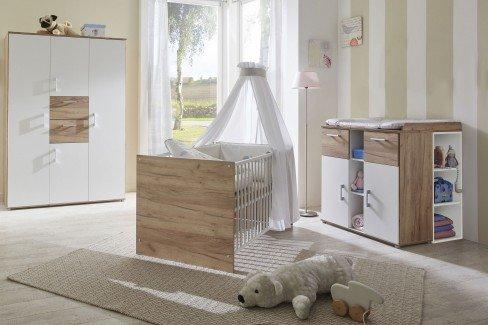 Anna von Arthur Berndt - Babyzimmer Goldeiche-Nachbildung/ weiß