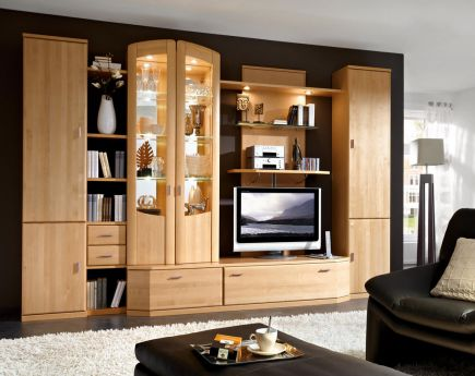 laguna von rietberger wohnwand 2490. Black Bedroom Furniture Sets. Home Design Ideas