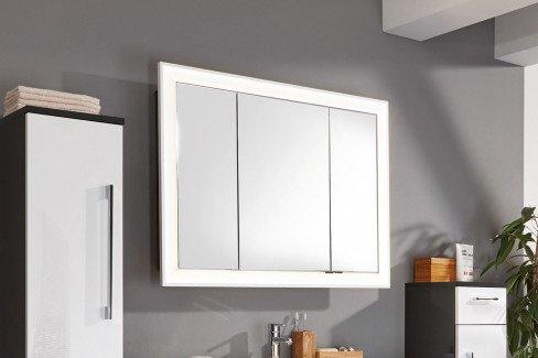 Brillant von puris - Badezimmer in Weiß & Karbon Hochglanz