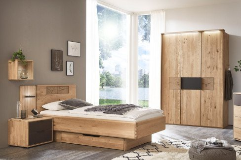 WSM 1600 von Wöstmann - Schlafzimmer-Möbel Wildeiche