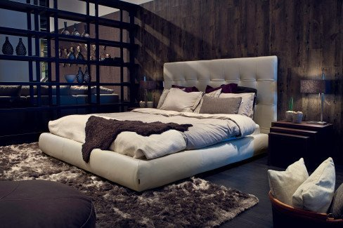 Furninova Blanc bed