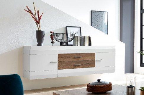 Die Hausmarke Light Line 2 - Wohnwand mit Designsäule