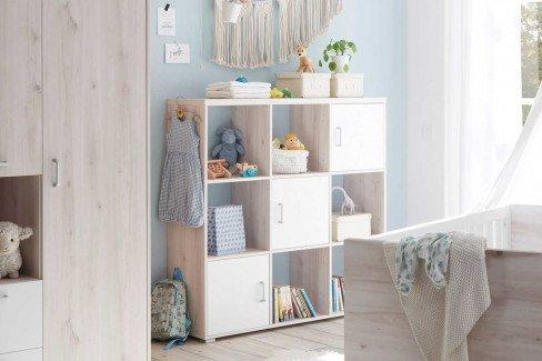 Cuby von BEGABINO - Babyzimmer-Set: Schrank, Bett, Wickelkommode