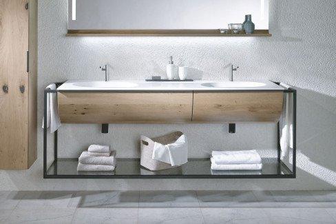 V-Quell von Voglauer - Badezimmer in Alteiche rustiko
