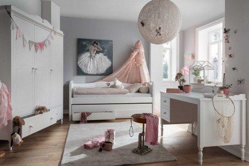 Emma von Infanskids - Landhaus Jugendzimmer-Set weiß