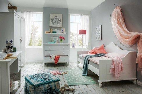 Klaudia von Infanskids - Jugendzimmer-Set: Schrank & Einzelbett