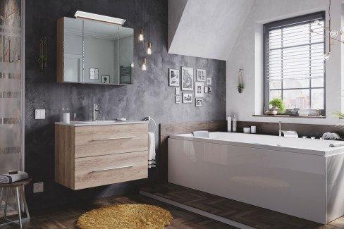 Homeline von Posseik - Badezimmer in Anthrazit seidenglanz