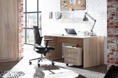Optimus von BEGA Consult - Schreibtisch in Sonoma-Eiche