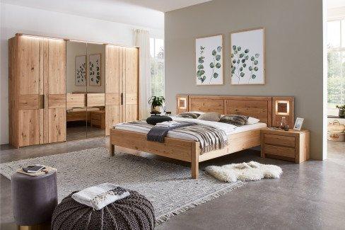 WSM 2700 von Wöstmann - Schlafzimmer-Set mit 2 Spiegelfronten