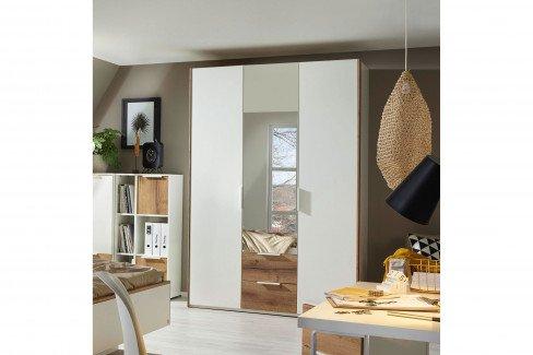 Style von Rauch Orange - Wohnwand weiß - Atlantic oak hell