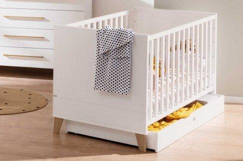 Oscar von Paidi - Babyzimmer-Set: Schrank, Bett, Wickelkommode