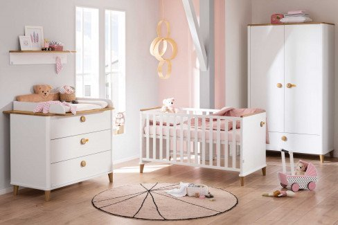 Lotte & Fynn Steiff by PAIDI - Babyzimmer-Einrichtung mit Teddybärchen
