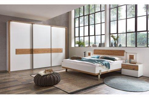 WSL 6000 von Wöstmann - Doppelbett Lack weiß