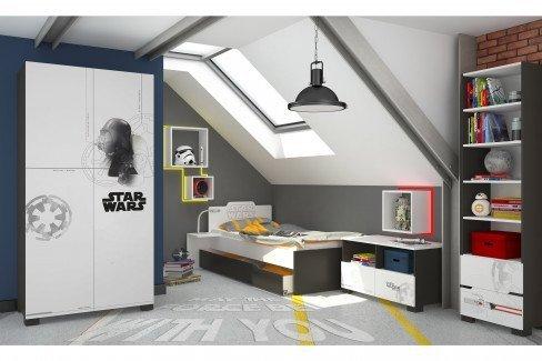 Star Wars von Meblik - Jugendzimmer-Kommode ca. 150 cm breit