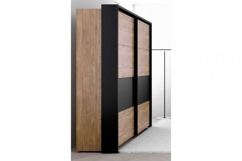 Acazio von Forte - Schlafzimmer-Set: Schrank & Bettanlage 160x200 cm
