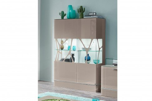 CUBE von LEONARDO living - Sideboard weiß mit Designfüßen