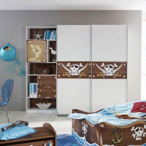 kinderzimmer drake motivdruck pirat von rauch m bel letz. Black Bedroom Furniture Sets. Home Design Ideas