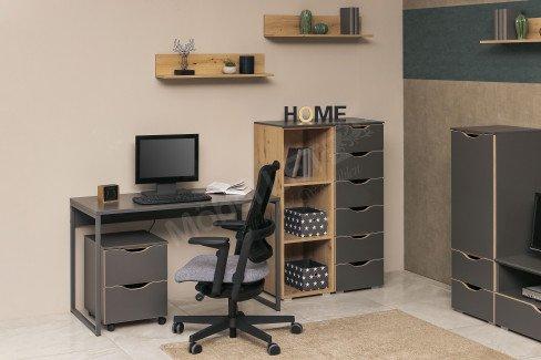 Lias von Rauch Orange - Wohnzimmermöbel graphit