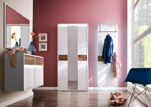 wittenbreder garderobe merano wei nussbaum m bel letz ihr online shop. Black Bedroom Furniture Sets. Home Design Ideas