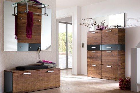 wittenbreder garderobe massello nussbaum anthrazit m bel. Black Bedroom Furniture Sets. Home Design Ideas